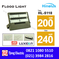 Lampu Sorot LED 200w - 240w Multi Chip Hinolux HL