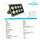 Lampu Sorot LED 400W COB Hinolux HL - 5177