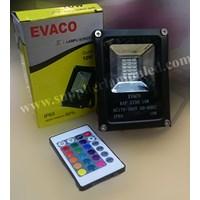 Lampu Sorot RGB 10w EVACO