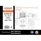 Lampu Jalan PJU LED OSRAM LEDENVO PLUS -90W AC 1