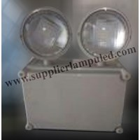 Jual Lampu Emergency LED Powercraft TED 10NM (WP) Twin Spot