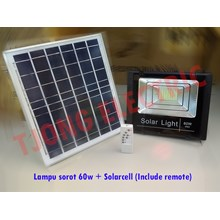 Floodlight solarcell 60w
