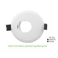 Lampu Downlight Vacolux E1 White Oval
