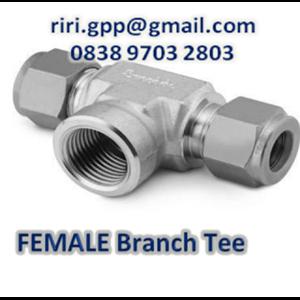 Female Branch Tee Od X Npt Swagelok