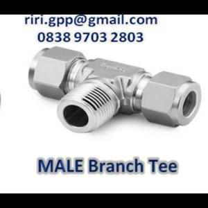 Male Branch Tee Od X Npt Swagelok