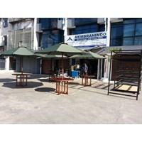 Distributor Payung Teras Jati Set (1 Meja 4 Kursi) 3
