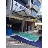 Distributor Tenda Kerucut 2.5M X2.5M Murah 3