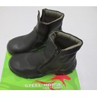 SEPATU SAFETY STEEL HORSE SH-9388 ZIPPER SIDED ANKLE BOOT 2