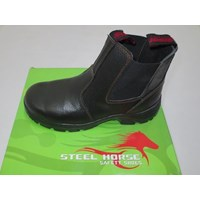 SEPATU SAFTY STEEL HORSE SH-9379 Elastic Sided Ankle Boot