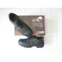 SEPATU SAFTY STEEL HORSE SH-9135 Lace up with Padded Collar & Tongue