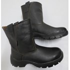 SAFTY SHOES STEEL HORSE SH-9599 BLACK Slip On Boot 1