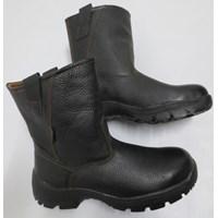 SAFTY SHOES STEEL HORSE SH-9599 BLACK Slip On Boot