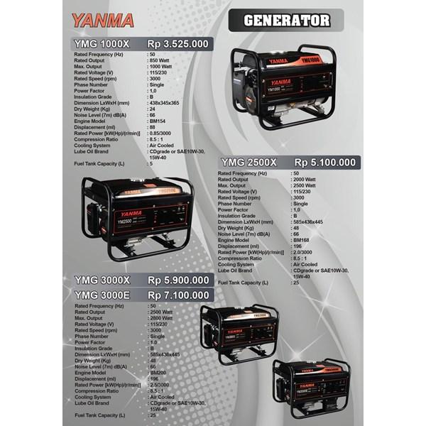 Gasoline Generator Yanma 850 Watt