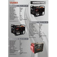 Gasoline Generator Yanma 5000 Watt