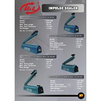 Mesin Press Impluse Sealer 20Cm