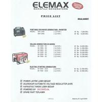 Genset Bensin Deluxe Ex-Series Sh3200