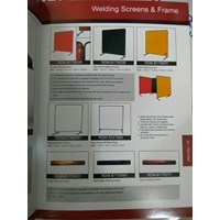 "WELDING SCREENS 6""X8"" REDRAM"
