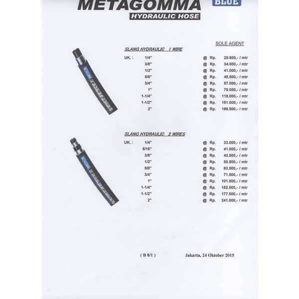 HYDRAULIC 1 WIRE METAGOMMA 1 INCH