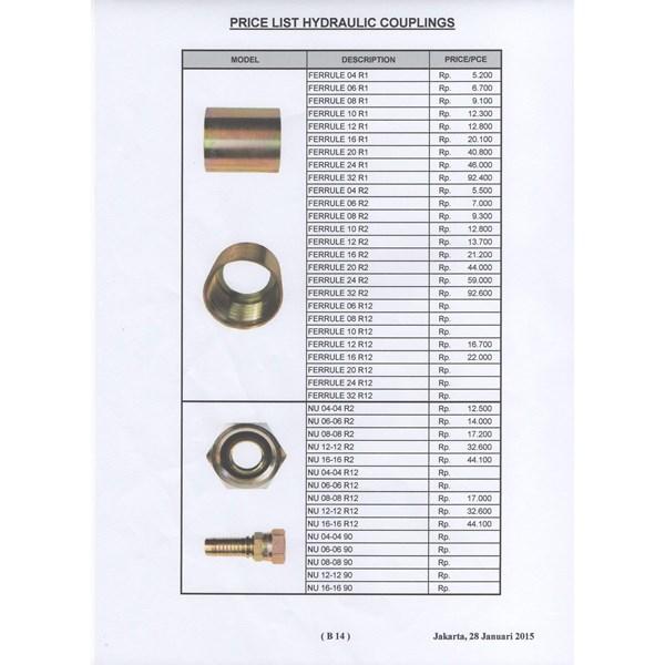 Hydraulic Couplings Ferrule 04 R1