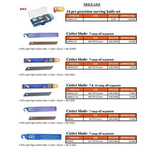 PRECISION KNIFE SET 14 PCS