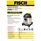 Vacuum cleaner 3 in 1 fisch 1