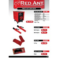 ELECTRODE HOLDER 500A RED ANT
