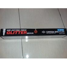 Glitter gas cutting torch medium