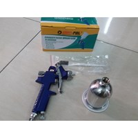 Spray gun taiwan tabung atas gravity feed