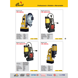 Driil rod model casal drill magnetic