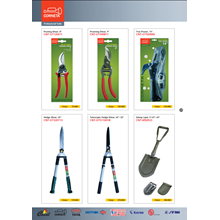 Tang potong corneta pruning shears and hedge shears