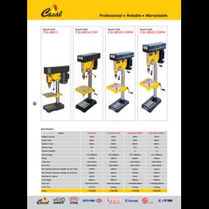 Mesin dan peralatan bor bench drill casal