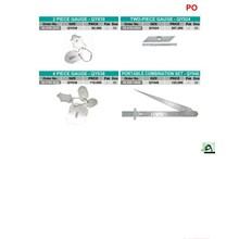potongan besi dan logam 2 piece gauge type-QY039