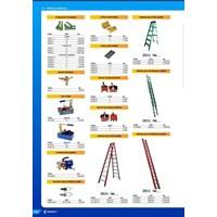 tangga lipat    merek FATOLLS LV-0620 6 METER  1