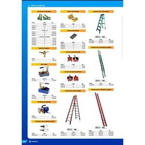tangga lipat    merek FATOLLS LV-0620 6 METER