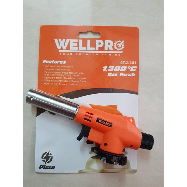 kompor gas portable gas torch welpro 2101