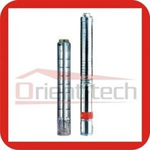 Stainless steel submersible borehole pump