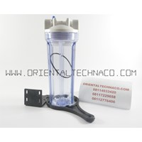 Housing Filter NANOTEC 10IN CLEAR