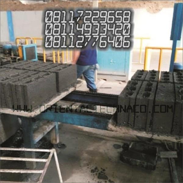 hollow brick Press three holes Franco sidoarjo