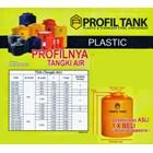 Tangki air - TANDON AIR PLASTIK PE PROFIL TANK 8