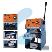 MESIN SEGEL GELAS CUP SEALER SEMI AUTOMATIC Murah 5