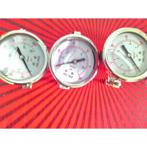 pressure gauge panel