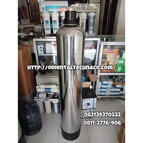 Tabung filter FRP lapis stainless steel
