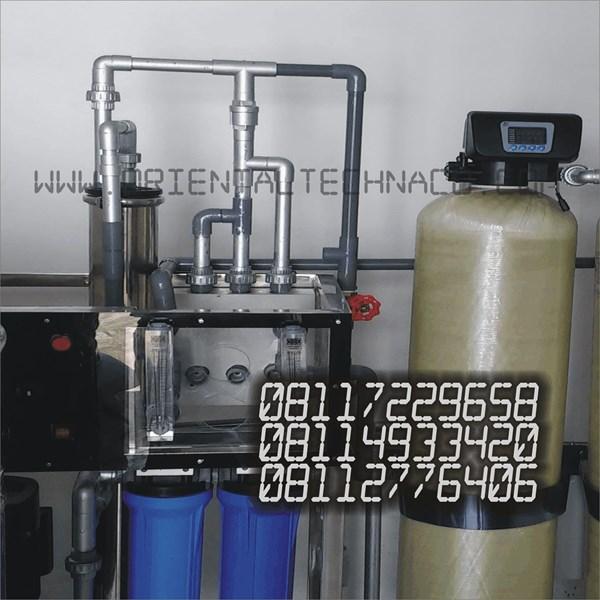 Mesin Filter Air RO Lengkap Rumah Sakit Kapasitas 2000 GPD