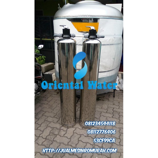 Tabung Filter stainless steel 1 set
