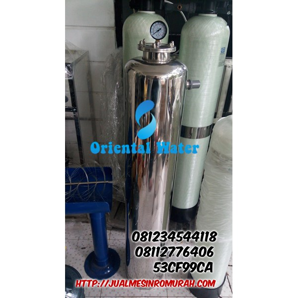 tabung filter stainless manual valve