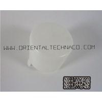 Distributor Tutup botol galon  polos19 liter model panjang warna putih  3