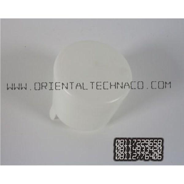 Tutup botol galon  polos19 liter model panjang warna putih