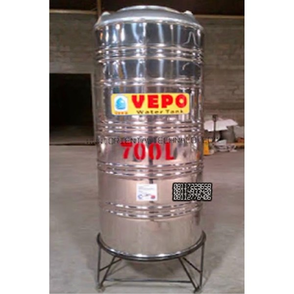 Tandon Air Vepo Stainless Steel 700 Liter