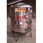 Tandon Air Vepo Stainless Steel 1500 Liter atau 1650 Liter 1