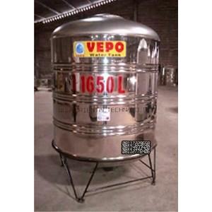 Tandon Air Vepo Stainless Steel 1500 Liter atau 1650 Liter